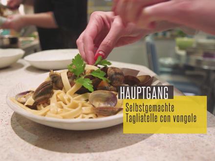 Selbstgemachte Tagliatelle con Vongole - Rezept - Bild Nr. 2