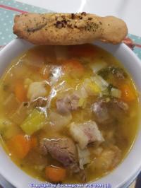 Biggi`s Suppen = Rindfleischsuppe mit viel Fleisch und schönen Gewürzen - Rezept - Bild Nr. 2