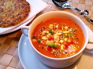 Tomatensuppe mit frischen Tomaten - Rezept - Bild Nr. 5396
