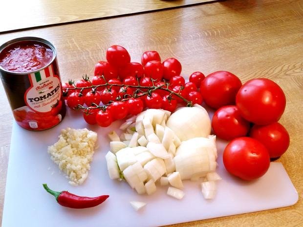 Tomatensuppe mit frischen Tomaten - Rezept - Bild Nr. 5397