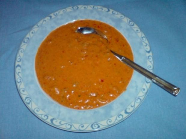 Ajvar Suppe - Rezept