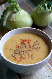 Kohlrabi-Süßkartoffel-Suppe - Rezept - Bild Nr. 2