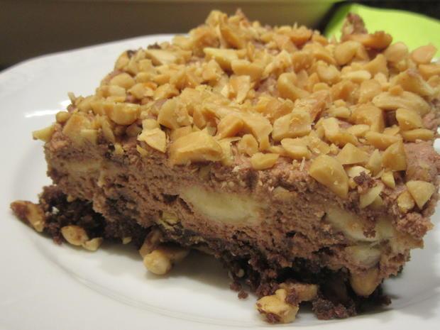 Dessert: Nussige Bananenschnitten - Rezept - Bild Nr. 5431