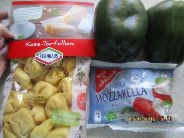 Gemüse-Tortelloni-Gratin - Rezept - Bild Nr. 5424