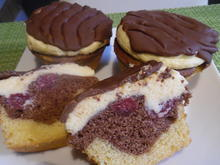 Donauwellen-Muffins - Rezept - Bild Nr. 5425