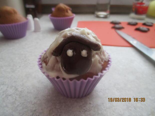 Muffins: Osterlämmchen - Rezept - Bild Nr. 5461
