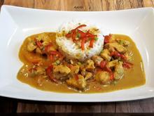 Fruchtiges Hähnchen Curry - Rezept - Bild Nr. 5448