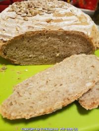 Oma Löffel`s Brote = Roggenmischbrot ohne Sauerteig aber mit Buttermilch - Rezept - Bild Nr. 2