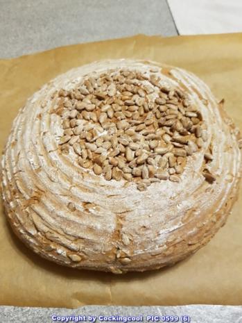 Roggenmischbrot ohne Sauerteig aber mit Buttermilch - Rezept - Bild Nr. 8