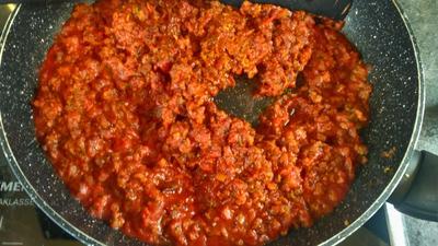 Vegane Spagetti Bolognese - Rezept - Bild Nr. 5449
