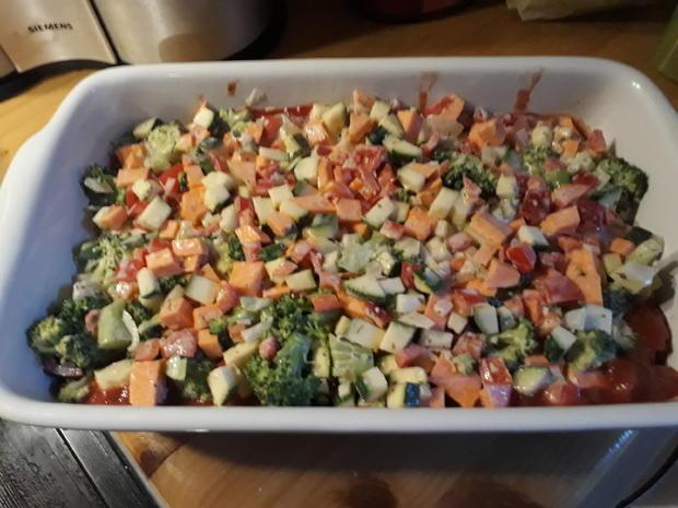 Süßkartoffel-Brokkoli-Lasagne - Rezept - Bild Nr. 5470