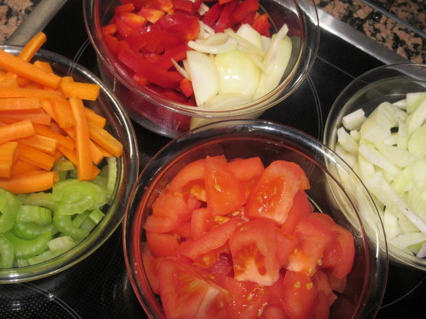 Gemüse: Buntes Wok-Gemüse - Rezept - Bild Nr. 5476
