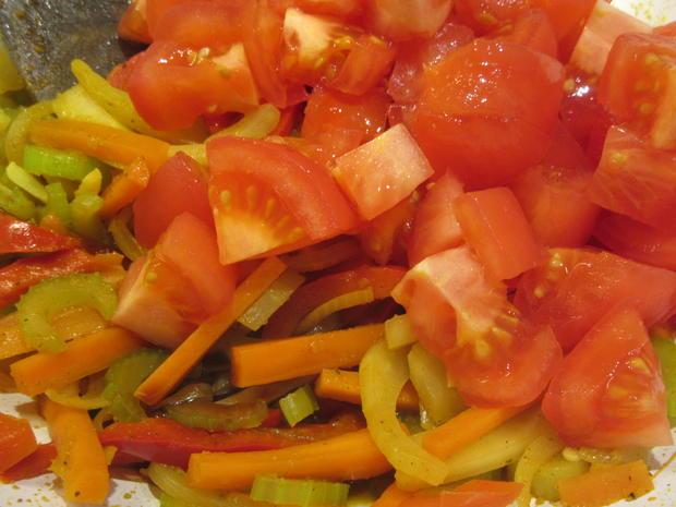 Gemüse: Buntes Wok-Gemüse - Rezept - Bild Nr. 5478