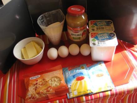 Apfelmus Quark Kuchen - Rezept - Bild Nr. 2