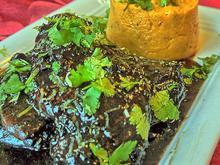 Black-Kardamom-Chicken, Süsskartoffelpüree - Rezept - Bild Nr. 5492