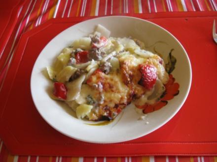 Kohlrabi-Kartoffel-Hack-Auflauf - Rezept - Bild Nr. 2