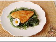 Gebratene Schollen-Filets  auf  Wakame - Glasnudeln Salat - Rezept - Bild Nr. 5484