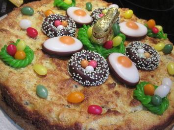 Backen: Österlicher Grießkuchen - Rezept - Bild Nr. 5484