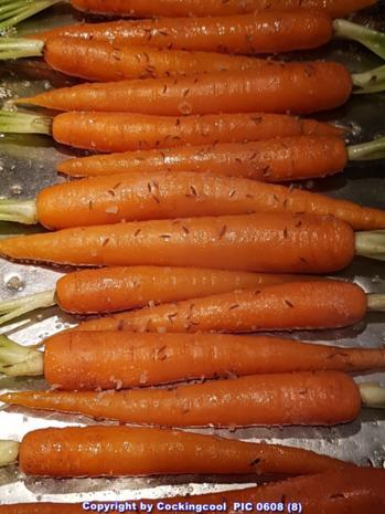 """Biggi`s Gemüsebeilagen = """"Gemüseteller"""" excellence (von VEGAN zu Omni) - Rezept - Bild Nr. 5490"""