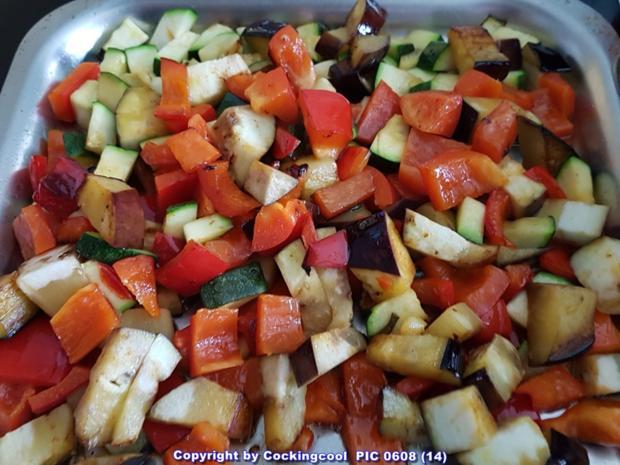 """""""Gemüseteller"""" excellence (von VEGAN bis Omni) alles möglich auch mit """"Zoodles"""" - Rezept - Bild Nr. 5492"""