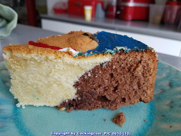 oma l ffel s kuchen rodon schoko vanillekuchen mit hasenmotiv zu ostern rezept. Black Bedroom Furniture Sets. Home Design Ideas