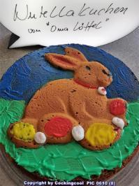 """""""Rodon""""  Schoko-Vanillekuchen mit Hasenmotiv zu Ostern - Rezept - Bild Nr. 5520"""