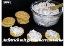 BiNe` S AUFSTRICH MIT GERÄUCHERTEM LACHS - Rezept - Bild Nr. 5524