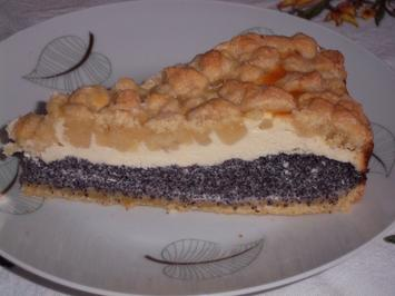 Mohn-Quark-Streusel-Kuchen - Rezept - Bild Nr. 5548