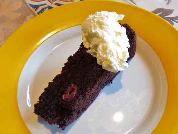 Zartbitter-süßer Kirsch-Kakao-Kuchen - Rezept - Bild Nr. 5547