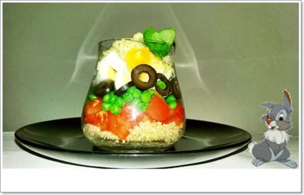 Schichtsalat im Glas auch ➯ zum Mitnehmen - Rezept - Bild Nr. 5557