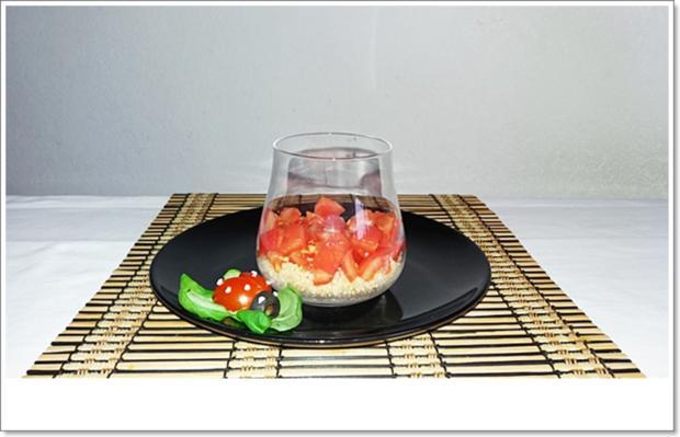Schichtsalat im Glas auch ➯ zum Mitnehmen - Rezept - Bild Nr. 5560