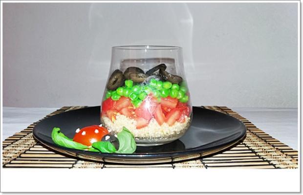Schichtsalat im Glas auch ➯ zum Mitnehmen - Rezept - Bild Nr. 5562
