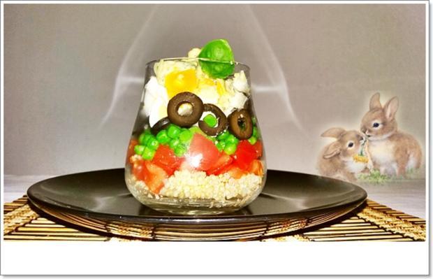 Schichtsalat im Glas auch ➯ zum Mitnehmen - Rezept - Bild Nr. 5568