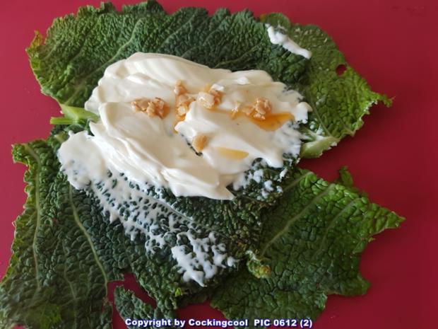 Biggi`s Gemüsebeilagen = Kohlroulade mit Wurstfüllung - Rezept - Bild Nr. 5581