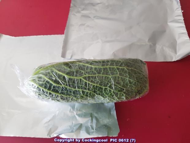 Biggi`s Gemüsebeilagen = Kohlroulade mit Wurstfüllung - Rezept - Bild Nr. 5585