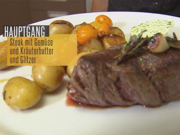Rezept: Rinderfilet mit Rosmarinkartoffeln (Natascha Ochsenknecht)