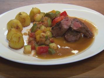 Rezept: Ratatouille mit Rosmarinkartoffeln (Giuliana Farfalla)