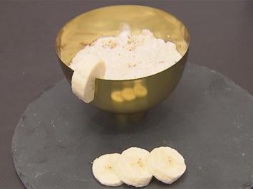 Kokosmilchreis mit Bananenpüree und Tonkabohne (David Friedrich) - Rezept - Bild Nr. 2