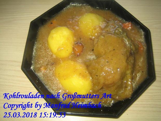 Kohlrouladen nach Großmutters Art - Rezept - Bild Nr. 5584