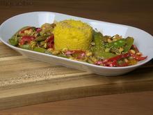 Asiatisches Mischgemüse mit Curryreis - Rezept - Bild Nr. 5588