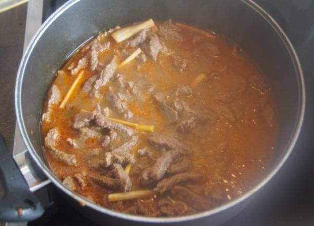 Rindfleischcurry mit Zitronengras und Basmati Reis - Rezept - Bild Nr. 5613