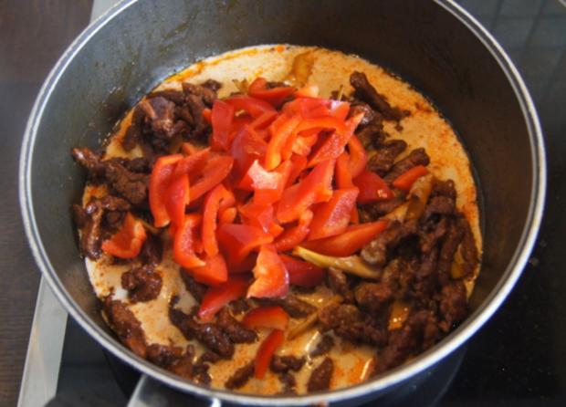 Rindfleischcurry mit Zitronengras und Basmati Reis - Rezept - Bild Nr. 5617