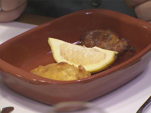 Caldo Verde, Pasteis de Bacalhau und Rissòis de Camarão - Rezept - Bild Nr. 2