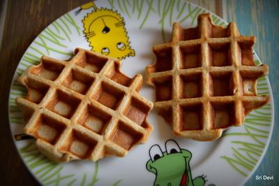 Frühstück: Simple Bananen-Waffeln oder Kaiserschmarrn - Rezept - Bild Nr. 2