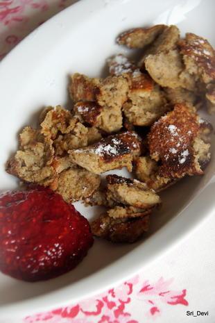 Frühstück: Simple Bananen-Waffeln oder Kaiserschmarrn - Rezept - Bild Nr. 3