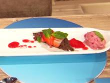 Fitness-Dessert: Brownie mit Eis (Glutenfrei) (Roman und Heiko Lochmann) - Rezept - Bild Nr. 2
