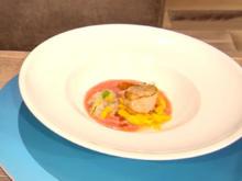 Mozzarella-Mango-Salat mit Jakobsmuschel (Blick in Rolands Topf) - Rezept - Bild Nr. 2