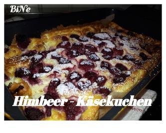 Rezept: BiNe` S LOW CARB HIMBEER - KÄSEKUCHEN