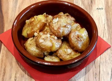 Batatas a murro ~ Faustschlag Kartöffelchen - Rezept - Bild Nr. 5604