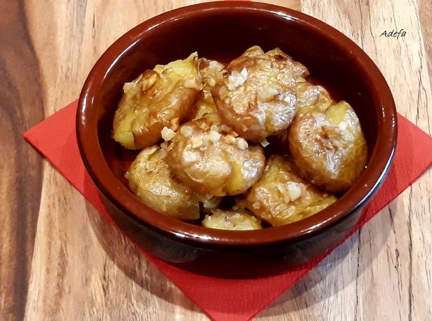 Batatas a murro ~ Quetsch - Kartöffelchen - Rezept - Bild Nr. 5605